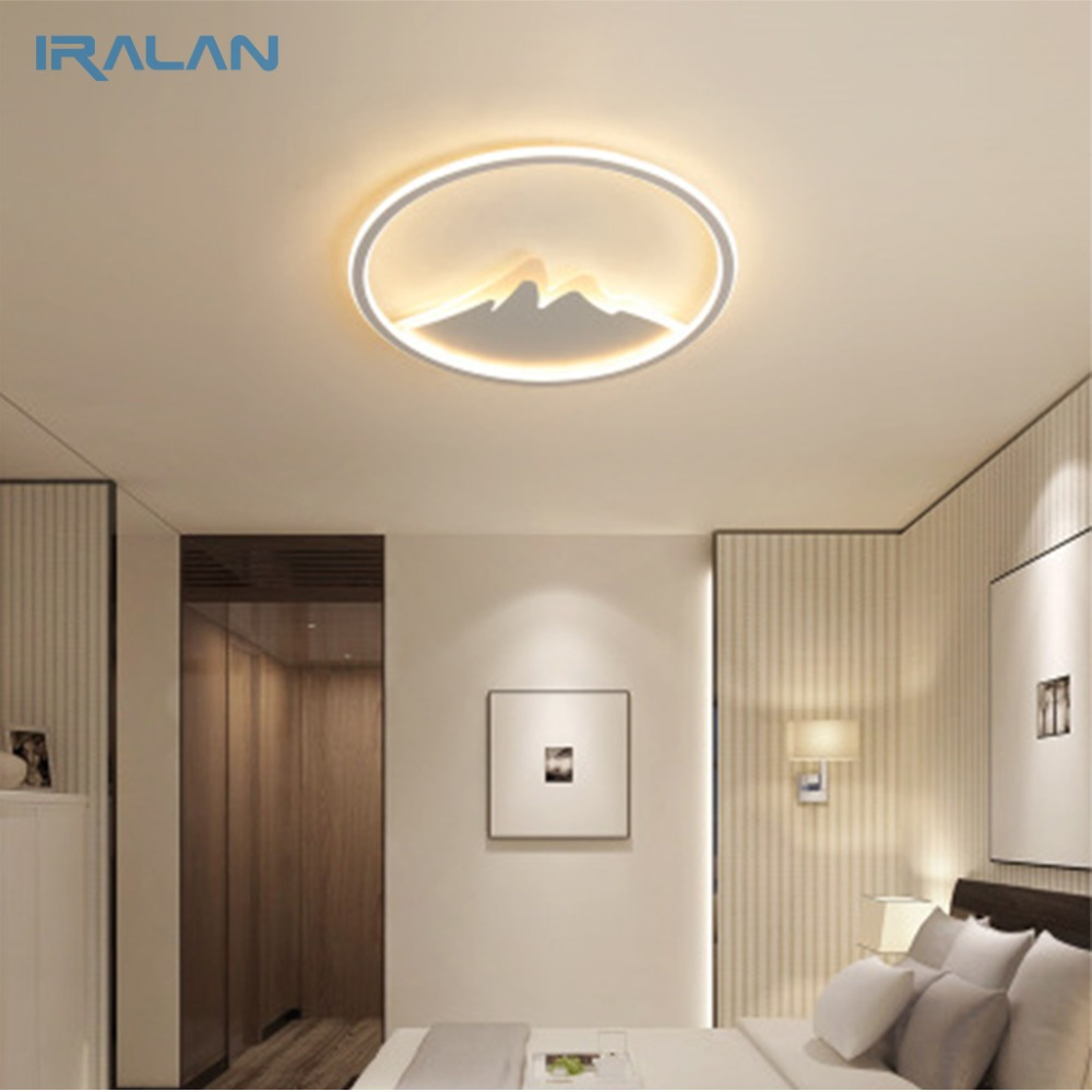Ceiling Lights & Fans Ceiling Lights Iralan Led Ceiling Light Modern Nature Rose Design Living Room Bedroom Kitchen Dining Room Lighting Fixture Icfw1909