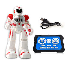 Kids Remote Control Robots Children Educational Intelligent Walking Dancing Combat Defenders Robots Toys(China)