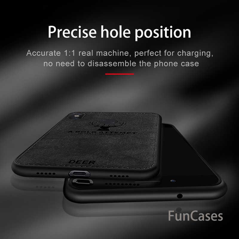 Para Xiaomi Redmi 6A 6 funda Redmi6 Pro funda trasera silicona borde tela suave Tpu Xiomi Redmi 6A 6 Pro 5 Plus 5 A6 ciervos tela de Shell