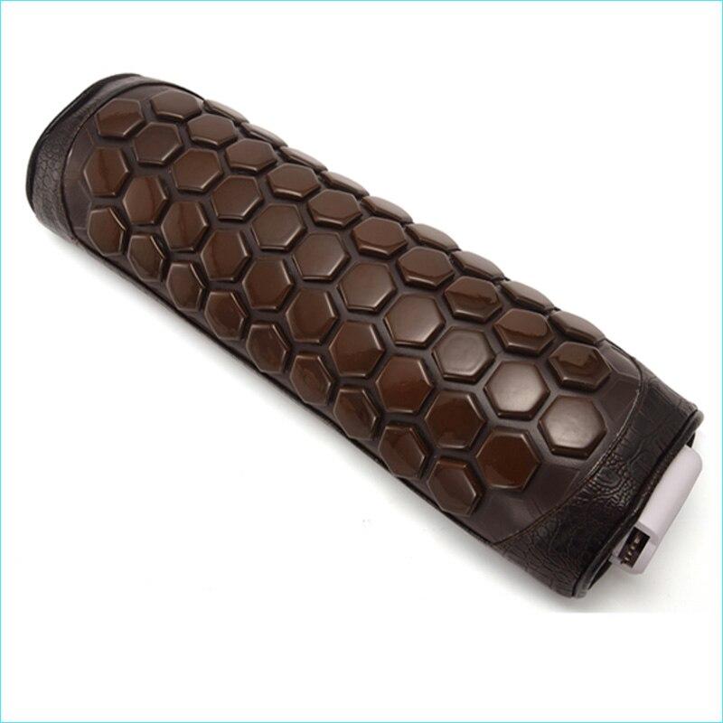 Masaje de turmalina de calefacción almohada de cuello de calor de espalda de la cintura calefacción infrarroja lejana terapia de germanio masajeador de cuello Cervical-in Masaje y relajación from Belleza y salud    1