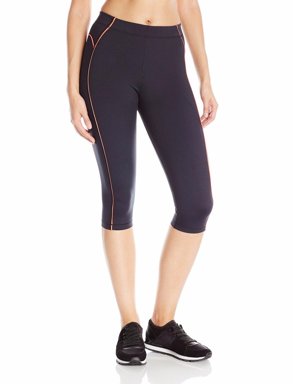 La Rodilla de las mujeres Tight Yoga Running Entrenamiento Deportes Capri Leggin