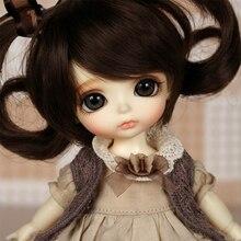 OUENEIFS lati yellow sunny lea lami kuro coco doll bjd sd 1/8 include eyes model reborn High Quality toys make up