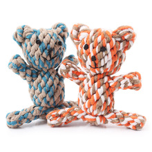 Pet Dog Cat Toys Chew Handmade Rope Panda Toy For Dog Cat Pet Durable Mascotas Perros Honden Speelgoed Hund Cani Chien
