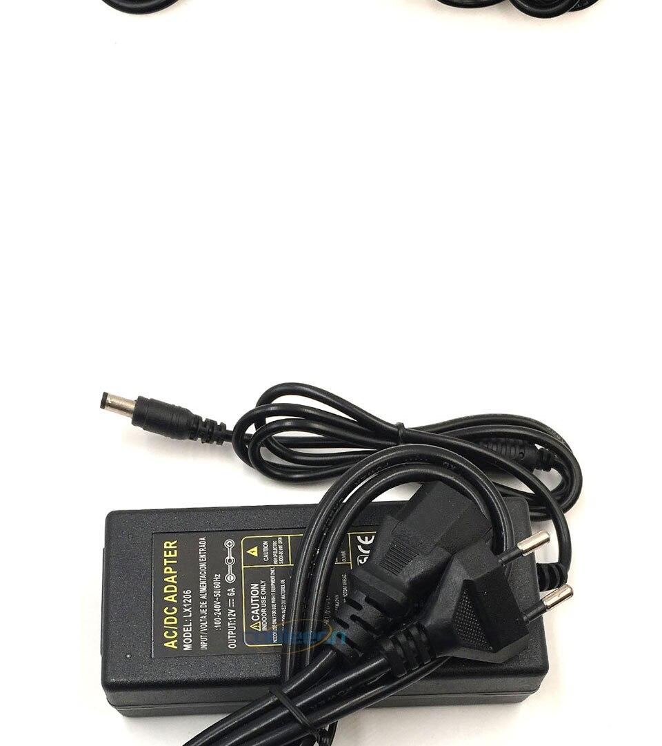 ACDC Adapter 12V Power Supply 1A 2A 3A 4A 5A 6A Transformer Driver for LED Strip Light Bulb AU UK US EU Plug Adapters 110V 220V (14)