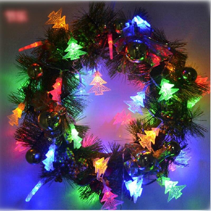 Luminaria 50 led christmas tree led string lights outdoor for Luminarias de exterior led