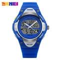 SKMEI 1055 Fashion Sport WATCH Luxury Kids Waterproof Wristwatch Automatic Military Watch Children Datejust Clock Top Quality