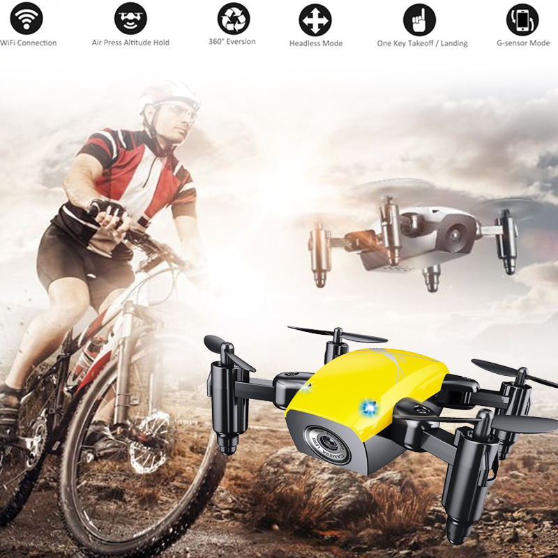 cheapest 2020 NEW RC Drone 4k HD Wide Angle Camera 1080P WiFi FPV Drone S60 Dual Camera Quadcopter Real-time Transmission Helicopter Toys