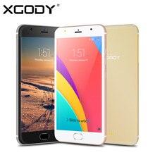 Xgody mt6580 d11 5.5 дюймов 3 г смартфон quad core 1 ГБ ram 8 ГБ ROM Android 5.1 1280*720 Мобильный Телефон Dual SIM 8.0MP GPS Wi-Fi