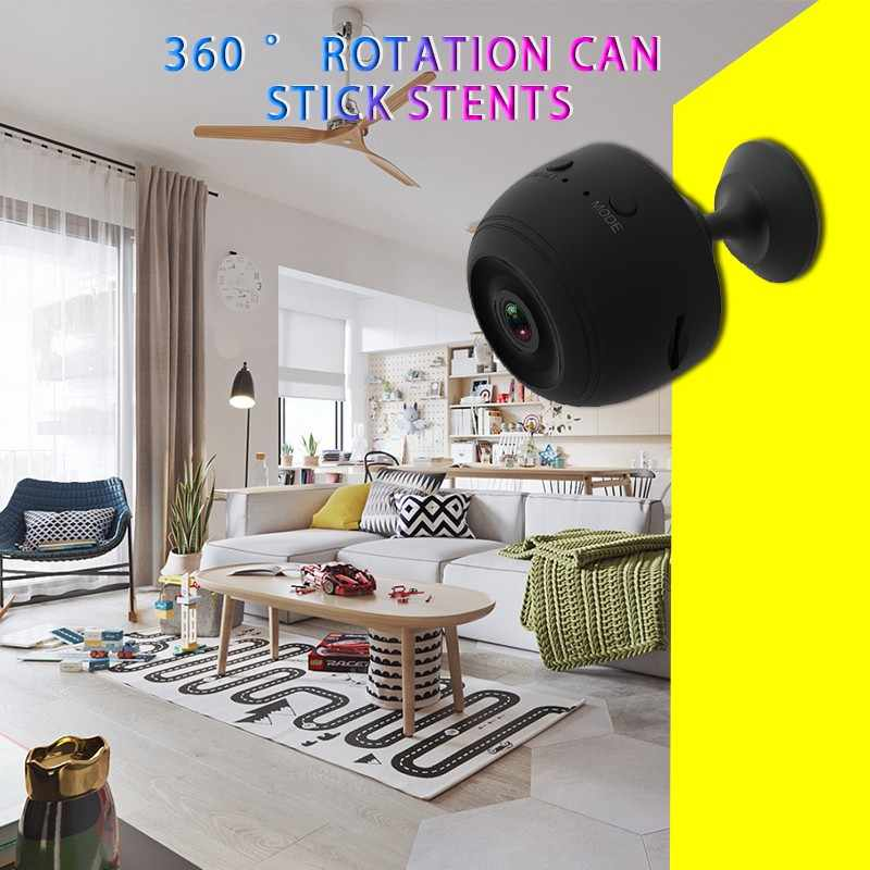 Мини Беспроводная Wi-Fi камера 1080P HD ip-камера удаленный монитор камера безопасности камера обнаружения движения ночного видения домашняя видеокамера ip Cam камера видеонаблюдения видеонаблюдение фотоаппарат уличная