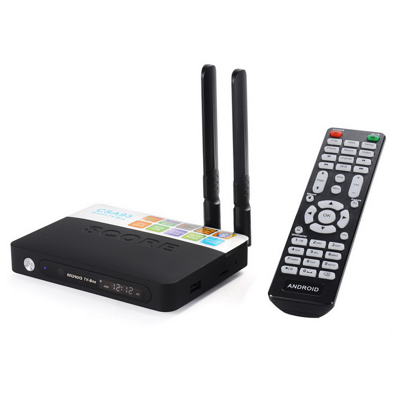 CSA93 Android 7.1 Smart TV Box 3GB RAM 32GB ROM 2G 16G Amlogic S912 Octa Core Streaming 4K Media Player Wifi BT4.0 Set Top Box x92 4k android 7 1 smart tv box amlogic s912 octa core h 265 wifi ram 2g 3g set top box media player pk x96 tv box