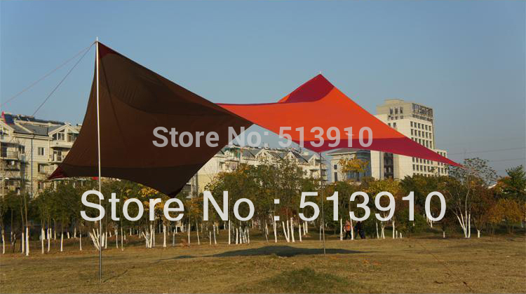 King canopy 5.5*5.6m super large size UV car sunshade tent/Hexagonal Punta rain awning tarp ultra large sun shelter tent king canopy 5 5 5 6m super large size uv car sunshade tent hexagonal punta rain awning tarp