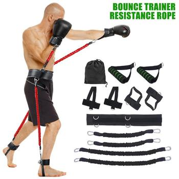 Sports Fitness Resistance Bands Stretching Strap Set for Leg Arm Exercises Boxing Muay Thai Gym Bouncing Training Equipment 1