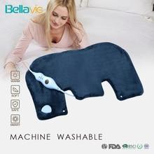 """Bellavie 18*2"""" грелки для шеи и плеч, электрогрелки для облегчения боли в спине с функцией автоматического отключения(вилка стандарта США 110 В"""