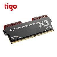 Tigo DDR4 8 gb RAM 2400MHz PC Gaming Memory LED Light for Computer Desktop Game Memoria DDR 4 X3 PRO