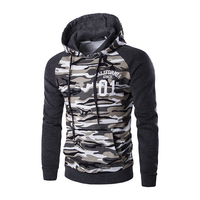 M 2XL 2016 Popular Brazil Men's hooded coats Camouflage Military Hoodies Autumn winter warm hoody for men Pullovers MQ394