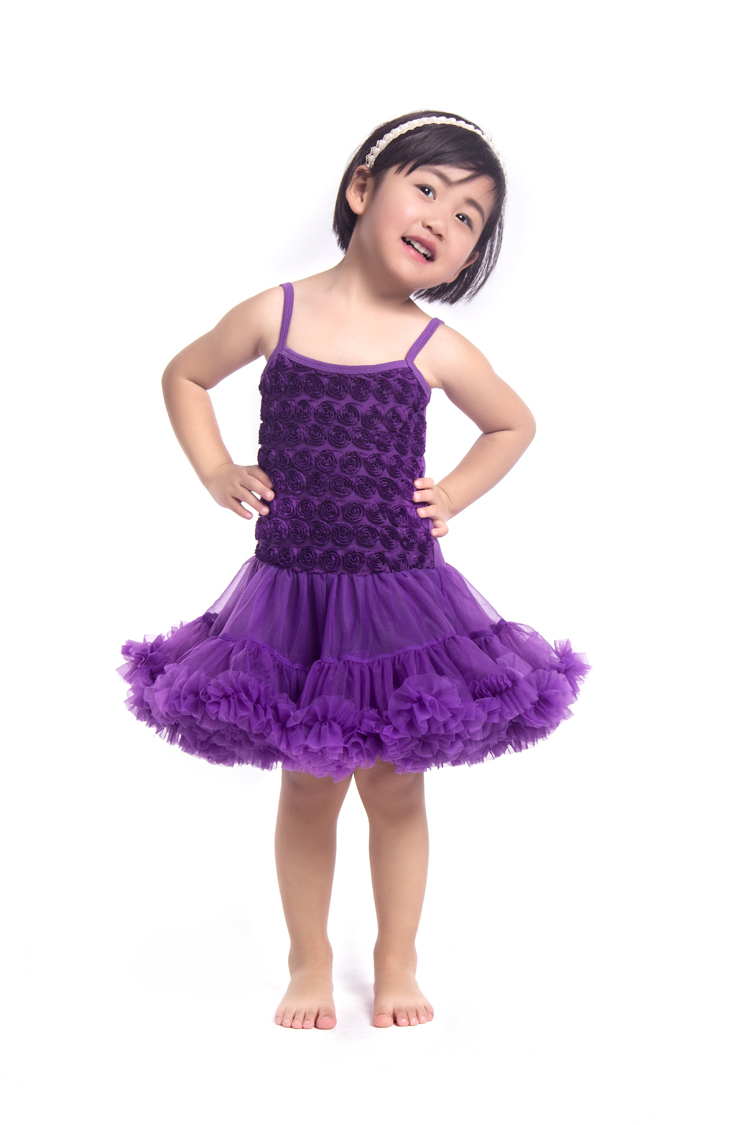 1a3c0a85c136 baby purple dresses baby fashion rosette children baby tutu dress for girls  factory direct sale made in china RDS001