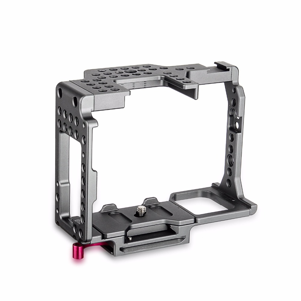 productimage-picture-waraxe-a7-kit-camera-cage-built-in-quick-release-fits-arca-swiss-for-sony-a7-a7r-a7s-a7-ii-a7r-ii-a7s-ii-with-nato-rail-handle-grip-and-1-4-98414
