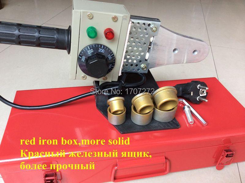 где купить free shipping Temperature controled PPR welding machine, plastic welder AC 220V 600W 20-32mm for weld plastic pipes по лучшей цене