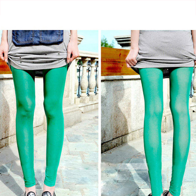 71d2160ccb4d9d Women Mesh Transparent Leggings Sexy See Through Pants For Ladies ...