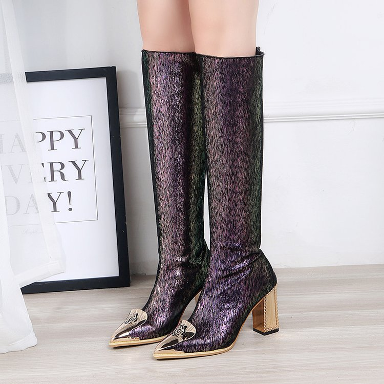 Boots Rodilla Boots Long Marca La Sexy Mujeres Impermeable Encima Mujer Rhinestone 2019 De Por short Largas Alta Diseñador Botas Zapatos Awvq4TxH1n