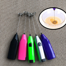 Creative mini handle electric Milk Frother Foamer Drink Coffee Whisk Mixer Egg Beater Stirrer eggs tool Kitchen cooking Tools цена и фото