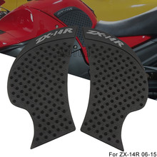 For Kawasaki ZX-14R 2006-2015 ZX14R ZX 14R Motorcycle Anti Slip Gas Oil Fuel Tank Pad Protector Knee Grip Side Decal Sticker brand new japan genuine speed controller as1311f m5 04