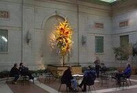 Отличное Чихули Книги по искусству взорван Стекло Люстры заподлицо настенный Декор светодиодные люстры