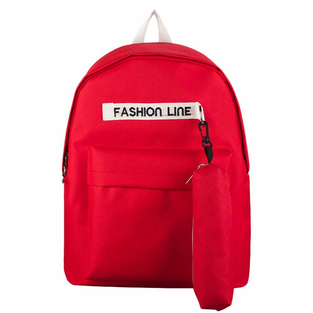 9d523f4bb84e xiniu Children Backpack Teenage Girls Boys School Backpack Bag Letter  Students Bags mochila feminina casual Female