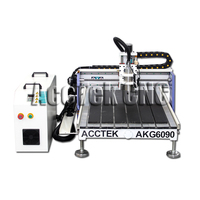 AccTek cnc 6040 6090 6012 desktop router mini cnc milling machine AKG6090