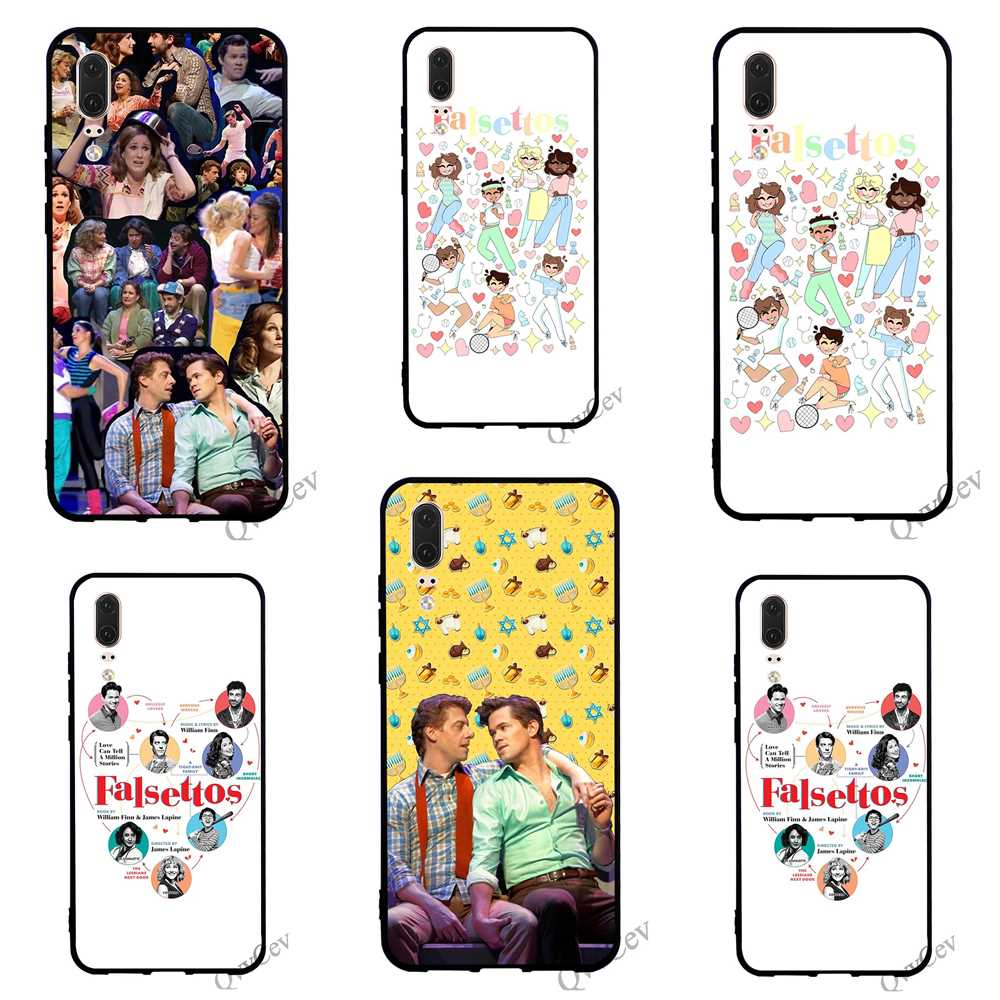 Fashion Falsettos Phone Case for Huawei P10 Lite Cover P8 P20 Pro P9 Mini P Smart Mate 10 20 Back
