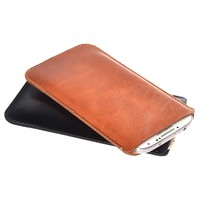 For Vernee Thor E 4G LTE 5 0 Best Quality Microfiber Leather Sleeve Pouch Phone Bag