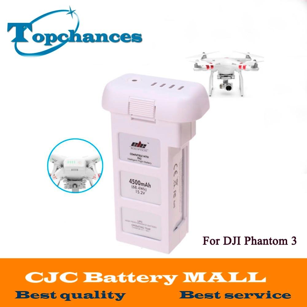 High Quality Hot Lipo 15.2V 4500mAh Rechargeable Battery For DJI Phantom 3 Professional AKKU Free shipping free shipping original dji tb47d battery 99 9wh 4500mah 22 2v for matrice 100 high performance