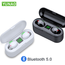 YUNAO SS2  Wireless Bluetooth Earphone call mic CVC8.0 noise canceling automatic connection Waterproof Sport