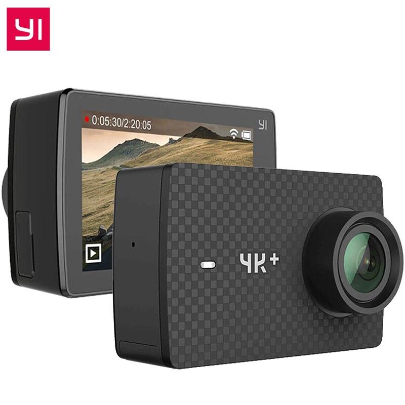 D'origine YI 4 K Plus Action Caméra 2.19 «Ambarella H2 pour SONY IMX377 12MP 155 Degrés 4 K Ultra HD YI 4 K + Action Sports caméra