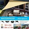 Треугольный солнцезащитный тент  защита от солнца  наружный навес для сада  патио  тент для бассейна  тент для кемпинга  палатка для пикника