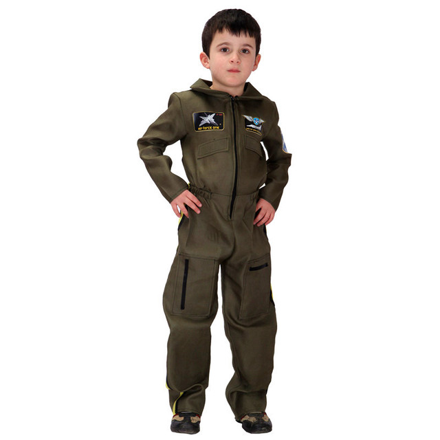 Children Halloween aviator Pilot Costume Boy Policemen Cosplay Kids Special forces uniform Role play Carnival Purim  sc 1 st  AliExpress.com & Children Halloween aviator Pilot Costume Boy Policemen Cosplay Kids ...
