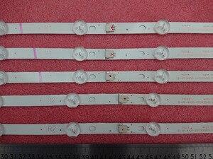 Image 5 - Новый комплект из 10 сменных светодиодных лент для подсветки для LG 42LA620V 6916L 1412A 6916L 1413A 6916L 1414A 1415A 1214A 1215A 1216A 1217A