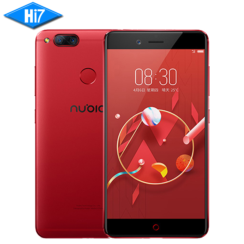 NEW Original ZTE Nubia Z17 mini 6GB 64GB 5.2 inch Snapdragon 653 Dual Rear Camera 13MP Fingerprint NFC 4G LTE Mobile Phone