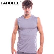 Taddlee Brand Mens Tank Top Stringer Gasp Tee Shirts Sleeveless Tshirts Singlets Fitness Men Bodybuilding Muscle Shirt Hip Hop