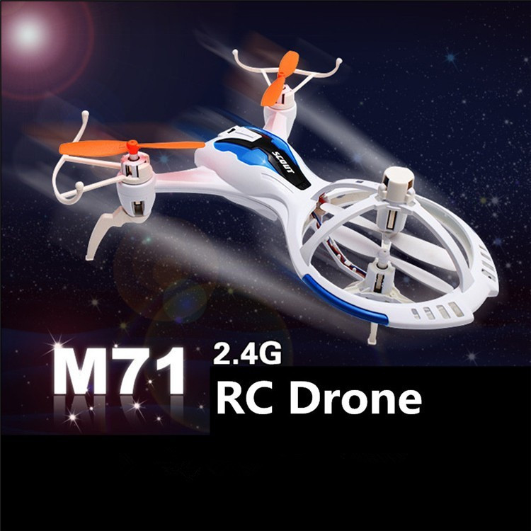 ФОТО 2016 New  M71 RC drone 2.4ghz 6axis gyro rc control mini drones used UAV small size toy with flip function vs X4 H107C