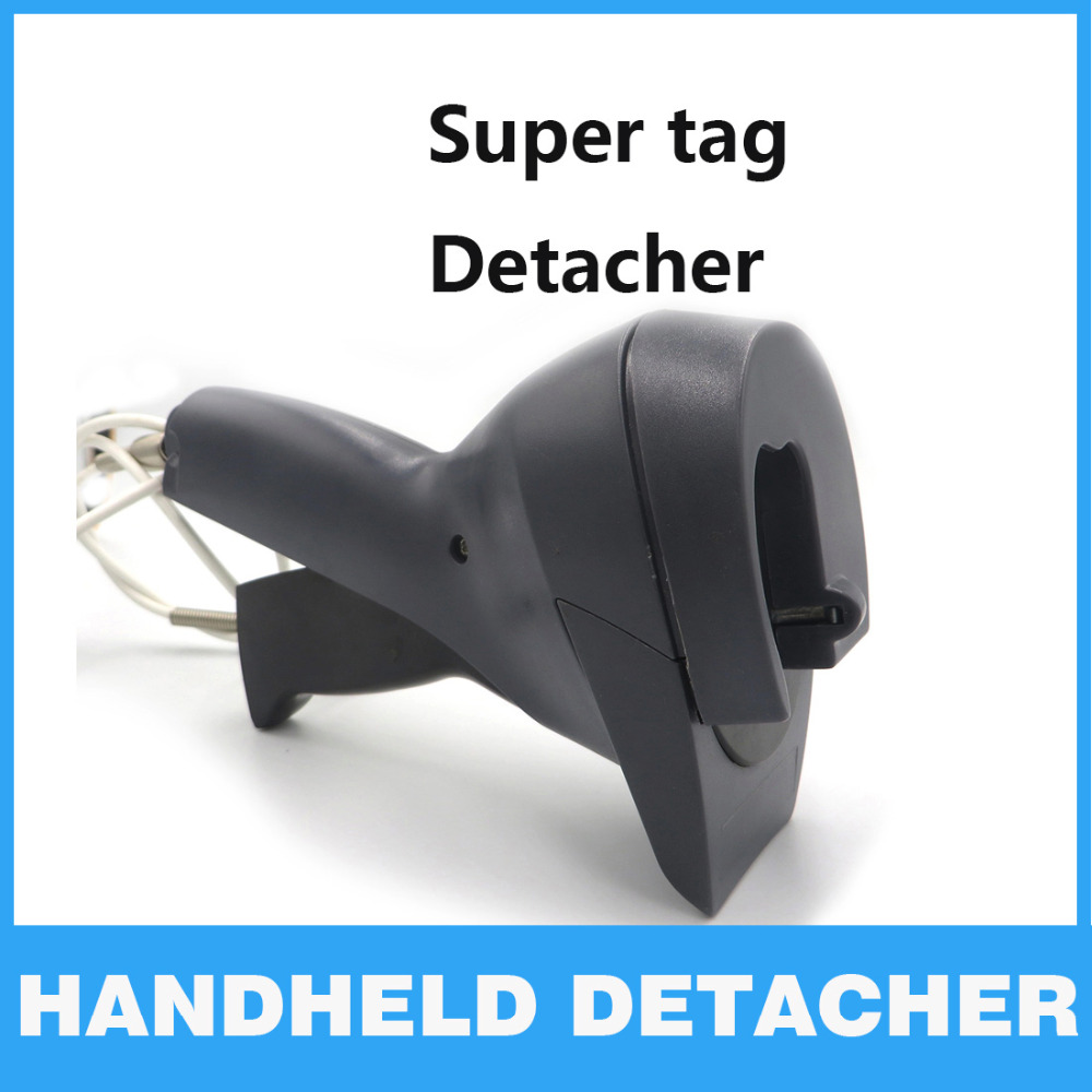 EAS Tag Gun Detacher AM EAS Clother magnet security Tag Remover Supermarket Handheld Tag Detacher Lockpick Protection Alarm Tag