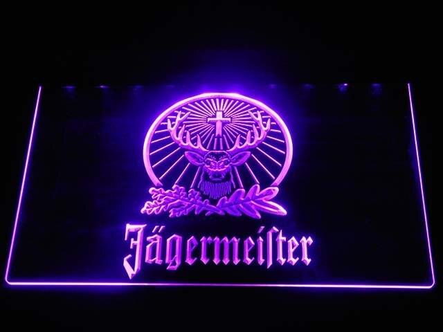 Jägermeister Deer LED Neon Logo 3