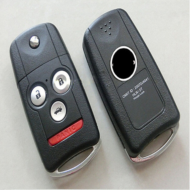Remote Flip Key Case shell for HONDA ACURA TL MDX NEW ODYSSEY CRV ACCORD CIVIC FOB COVER-in Car ...