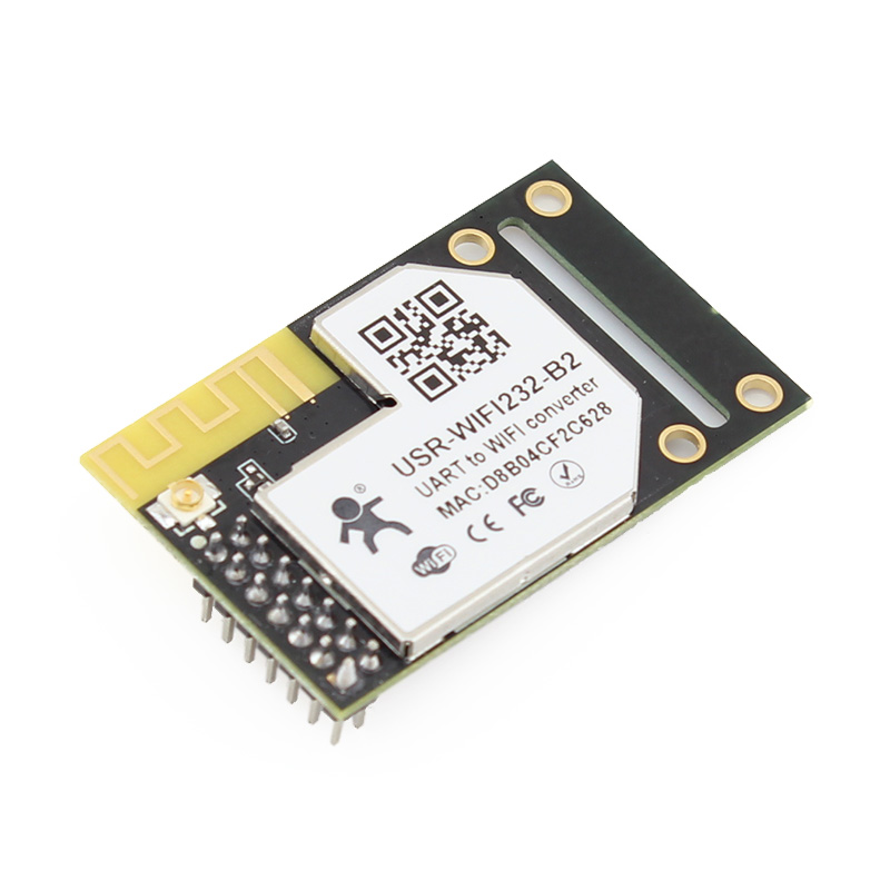 Q091 USR-WIFI232-B2 Serial UART TTL  to 802.11 b/g/n Wifi /Wireless Module Converter Built-in Webpage with External Antenna freeshipping uart to zigbee wireless module 1 6km cc2530 module with antenna