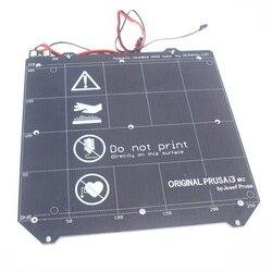 Prusa i3 MK3 3D drukarki MK3 Y przewóz ogrzewany łóżko zestaw okablowania termistor z magnesem dla Prusa i3 MK3