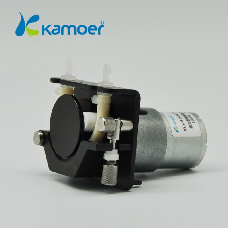 Kamoer KCS 24V DC Water Pump (Liquid Pump, DC Motor, Free Shipping, Peristaltic Pump, Silicone/Viton/PharMed, Food Safe) kamoer kcs mini peristaltic pump stepper motor 24v electric water pump