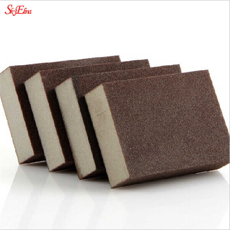 5pcs/1pcs 100*70*25mm High Density Nano Emery Magic Melamine Sponge For Cleaning Homeware Kitchen Sponge Removing Rust Rub 5Z