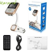 CARPRIE Súper nave de la gota Del Coche del LCD Bluetooth Reproductor de MP3 FM Del Modulador Del Transmisor SD USB Remoto Para Teléfono TR Mar717
