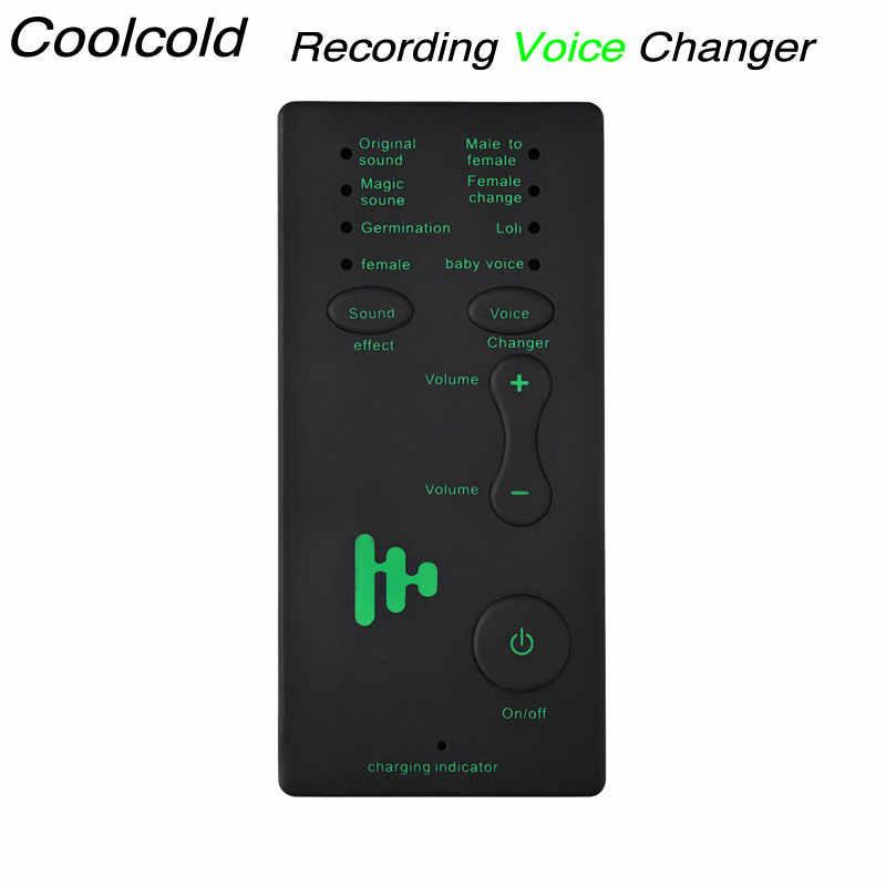 8 Modes Smart Phone Cellphone PC Laptop Sound Voice Changer
