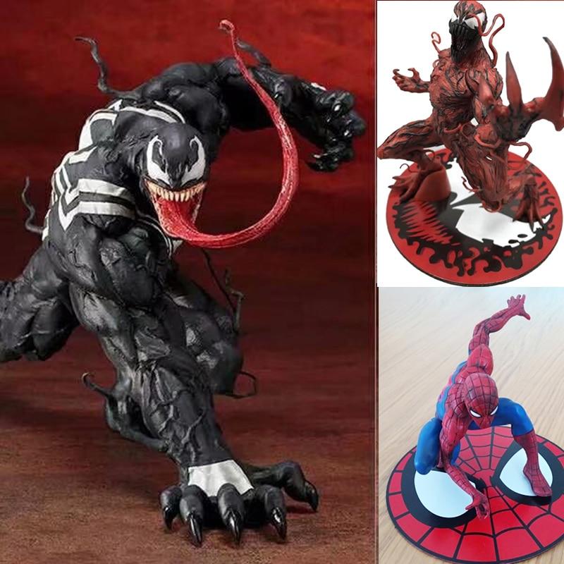 Venom Action Figure Model Doll New Marvel PVC 16CM Statue Toy Spider-Man ARTFX